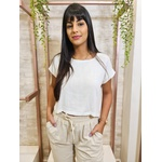 Cropped Isadora - Off White