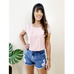 Cropped Isadora - Rosê