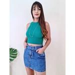 Cropped Maria - Verde Folha
