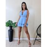 Vestido Juju - Azul bebê