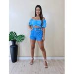 Short Graziela - Azul Bebê