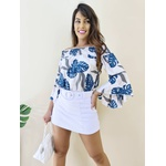 Short Saia Linda - Branco