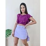 Short Saia Linda - Lavanda