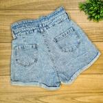 Short Jeans Lili - Cós duplo - Sem lycra