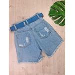 Short Jeans Compridinho