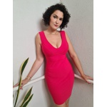 Vestido Midi QCL Belle - Vermelho Vivo