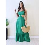 Vestido Agatha - Verde Folha