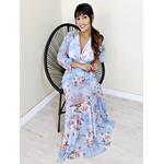 Vestido Beatrice - Azul Bebe
