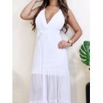 Vestido Donatela - Branco
