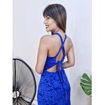 Vestido Hanna - Azul Bic