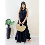 Vestido Juliette Longo - Preto