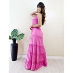 Vestido Juliette Longo - Rosa