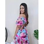 Vestido Letícia - Floral