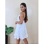 Vestido Mabel - Branco