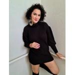 Vestido Tricot Caroline - Preto