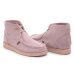 Bota London High Creme