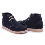 Bota London High marinho