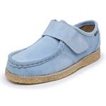 Sapato Velcro Azul céu