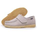 Sapato Velcro Taupe