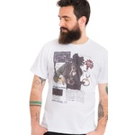 Camiseta Estampada Basquiat
