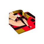 Camisa Estampada Geométrica Unissex Prado - Mahs