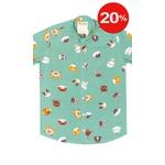 Camisa Estampada Gatinhos Verde Unissex Cats - Mahs