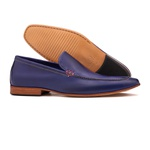 Mocassim Loafer Austin Azul Royal