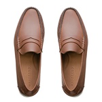 Mocassim Loafer Rossi Tabaco