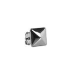Brinco Pirâmide Semijoia RB - 1 PEÇA (Não é o par)
