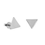 Brinco Triângulo Liso Semijoia RB - 1 PEÇA (Não é o par)