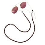 Cordão De Óculos Náutico Marrom
