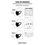 Máscara Espuma Lavável Raposa Cor 5.15