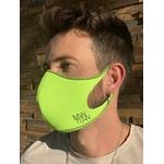 Máscara Espuma Lavável Neon Fluor Cor 4.7