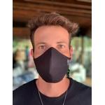 Máscara Tecido Lavável Basics Laranja Fluor Cor 1.9