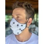 Máscara Tecido Lavável Estampada Coqueiro Cor 5.2