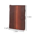 Porta Sulfite Mantoan - Estonado Moca F/laranja - Laser