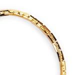 Pulseira Cartier Estilizada Semijoia Ouro