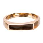 Anel Sinete 4x15mm Semijoia Ouro