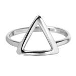 Anel Triângulo Semijoia RB