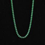 Colar Masculino Riviera Verde Esmeralda 2mm
