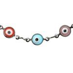 Pulseira Olho Grego Colorido Semijoia RN