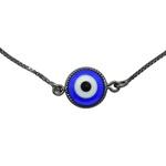 Pulseira Olho Grego Solitário Semijoia RN
