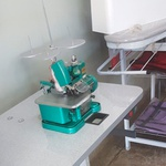 Máquina de Costura Semi Industrial FOX GN1-6D Verde 110V