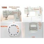 Máquina de Costura Janome 1006 + BRINDES ESPECIAIS (ESCOLHA DO CLIENTE)