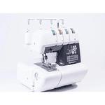 Máquina De Costura Doméstica Overloque Ss-320 Sun Point Preta 220 Volts
