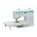Máquina de Costura Brother QB9110L com 100 pontos e Mesa Extensora Autovolt