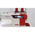 Máquina de Costura Reta Eletrônica Sun Special SS18E-D4-PR-QI