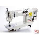 Máquina De Costura Industrial Ponto Corrente 2 Agulhas com Direct Drive SS3800-2D-W + Brindes Especiais
