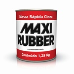 MASSA RÁPIDA CINZA MAXI RUBER 900ML