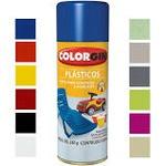 Tinta Spray Colorgin P/ Plastico
